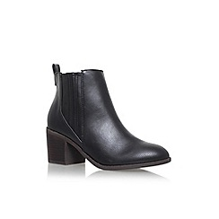 Miss KG - Black 'Taurus' high heel ankle boots