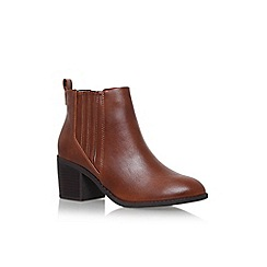 Miss KG - Brown 'Taurus' high heel ankle boots