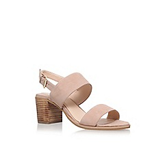Carvela - Natural 'Stride' High Heel Sandals