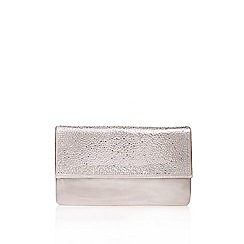 Carvela - Silver 'Desire' clutch bag