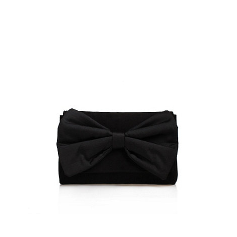 Carvela - Black +Daisy+ Clutch Bag With Shoulder Chain