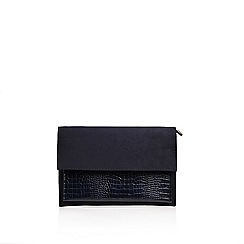 Carvela - Blue 'Dixon' Envelope Clutch Bag