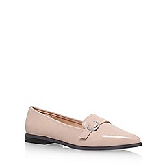 Miss KG - Natural 'Neeve' Flat Slip On Loafers