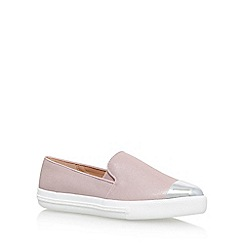 Miss KG - Pink 'Lanette' Flat Slip On Sneakers