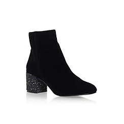 Miss KG - Black 'Serbia' high heel ankle boots