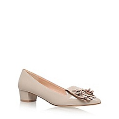 Miss KG - Natural 'Anita' Mid Heel Slip On Loafers