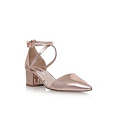 Miss KG - Metal ava mid heel sandals