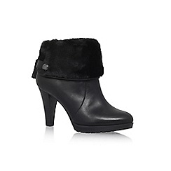 Anne Klein - Black 'Teamy' Hight Heel Ankle Boots