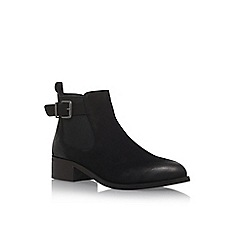 Miss KG - Black 'Shallow' flat ankle boots