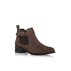 Miss KG - Taupe 'Shallow' low heel ankle boot