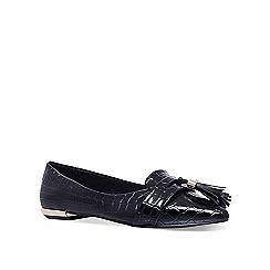 Miss KG - Black 'Nikki' flat ballerina shoes