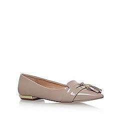 Miss KG - Natural 'Nikki' flat slip on loafers