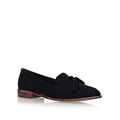 Miss KG - Black 'Murrie' flat slip on loafer