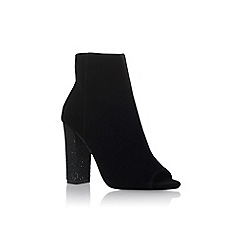 Miss KG - Black 'Slender' high heel shoe boots