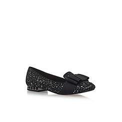 Miss KG - Black 'Gerry' low heel loafers