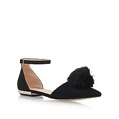 Miss KG - Black 'Goldie' flat sandals
