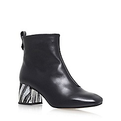 KG Kurt Geiger - Black 'Snoopy' High Heel Ankle Boots