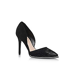 KG Kurt Geiger - Black 'Charm' high heel sandals