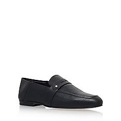 KG Kurt Geiger - Black 'Kipper' Low Heel Slip On Loafers