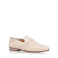KG Kurt Geiger - White 'Kipper' low heel loafers