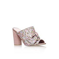 KG Kurt Geiger - Pink 'Jessie' high heel sandals
