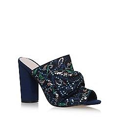 KG Kurt Geiger - Blue 'Jessie' high heel sandals