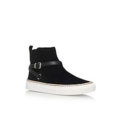 KG Kurt Geiger - Black 'Luna' flat sneakers