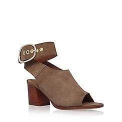 KG Kurt Geiger - Brown 'Nata' high heel sandal