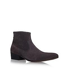 KG Kurt Geiger - Grey 'Montana' flat chelsea boots