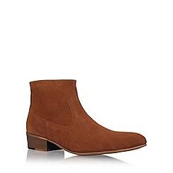 KG Kurt Geiger - Brown 'Montana' flat chelsea boots