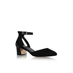 Carvela - Black 'Antonia' mid heel sandals