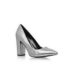 Carvela - Grey 'Arthur' high heel court shoes