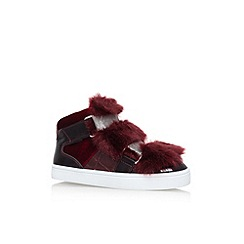 Carvela - Red 'Lovely' flat sneakers