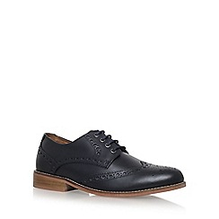 KG Kurt Geiger - Black 'Gloucester' flat lace up shoes
