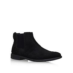 KG Kurt Geiger - Black 'Guilford' Flat Chelsea Boots