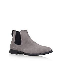 KG Kurt Geiger - Grey 'Guilford' Flat Chelsea Boots