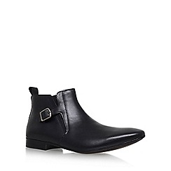 KG Kurt Geiger - Black 'Grays' Flat Chelsea Boot