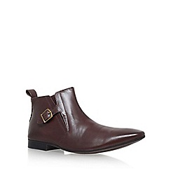 KG Kurt Geiger - Brown 'Grays' Flat Chelsea Boot
