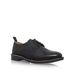KG Kurt Geiger - Black 'Godalming' flat lace up shoes