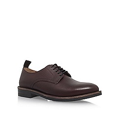 KG Kurt Geiger - Red 'Godalming' flat brogues