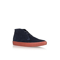 KG Kurt Geiger - Blue 'Glasgow' Lace Up Sneakers