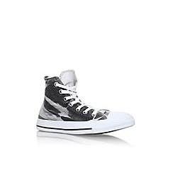 Converse - Black 'CT Breathable LW' flat lace up sneakers