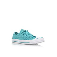 Converse - Blue 'CT Breathable LW' flat lace up sneakers