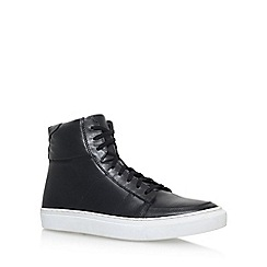 KG Kurt Geiger - Black 'Glastonbury' Flat Lace Up Sneakers