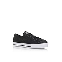 Converse - Black 'Ctas Highline' flat lace up sneakers