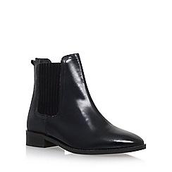 KG Kurt Geiger - Black 'Staple' Low Heel Chelsea Boot