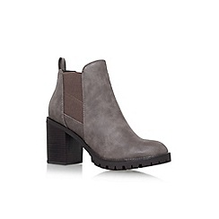 Miss KG - Brown 'Silent' high heel ankle boots