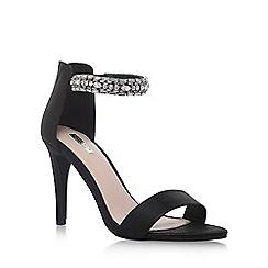 Carvela - Black 'Georgie' high heel sandals