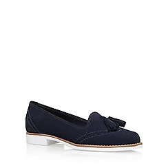 KG Kurt Geiger - Blue 'Koke' Low Heel Slip On Loafers