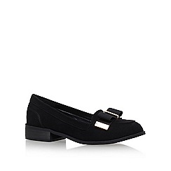 Miss KG - Black 'Neema' low heel loafers